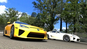 LFA vs. LFA at Monza