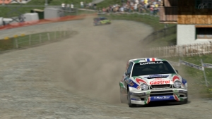 Rally race at Eiger Nordwand