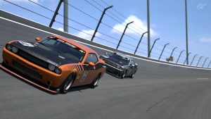 Race 4 - Dodge Challenger SRT8 Touring Car @ Daytona Road Course