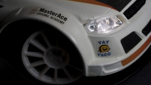 SRT Custom RC Rally Car - Detail